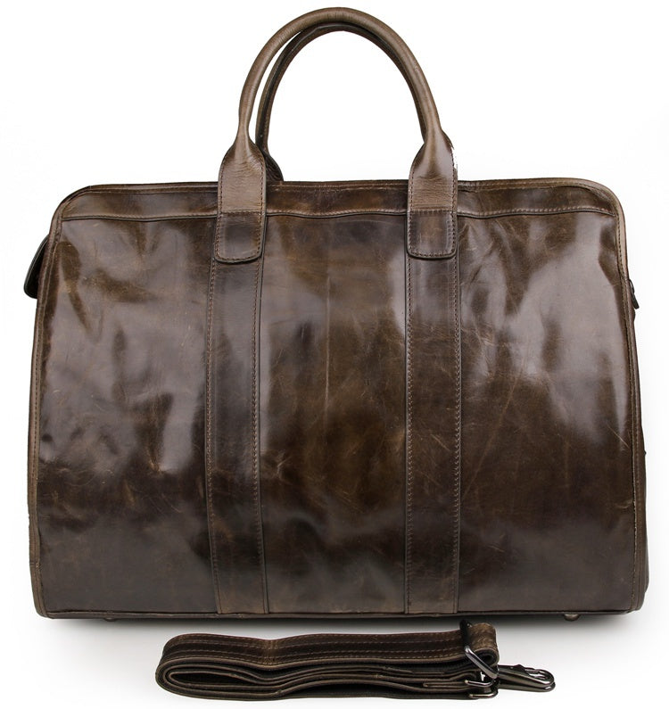 Explorer Leather Holdall
