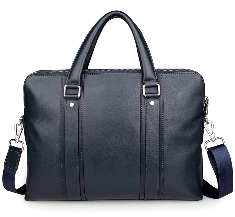 """Foxton"" Business Leather Laptop Briefcase"