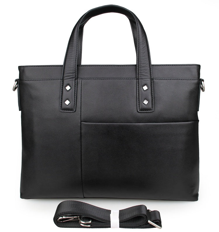 Chancery Leather Briefcase Laptop Bag