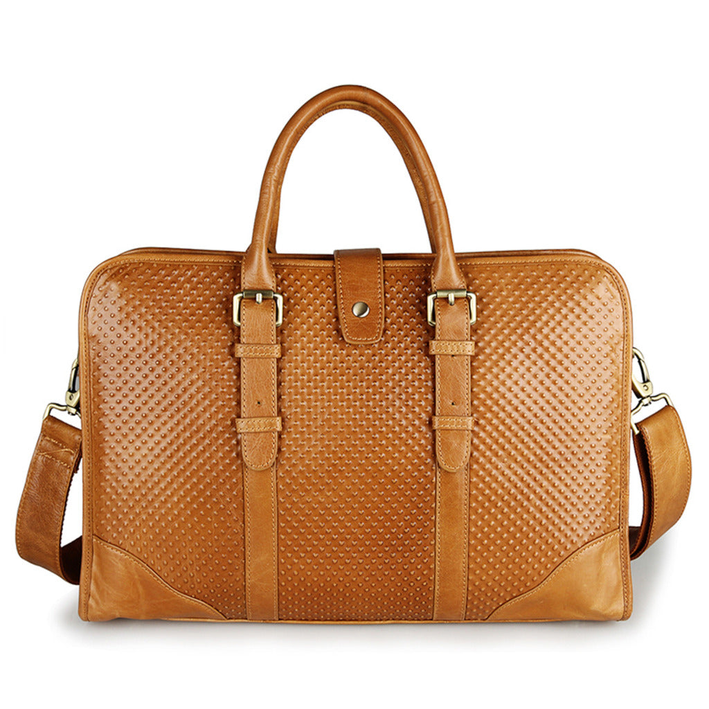 Amalfi Italian Leather Briefcase for Women