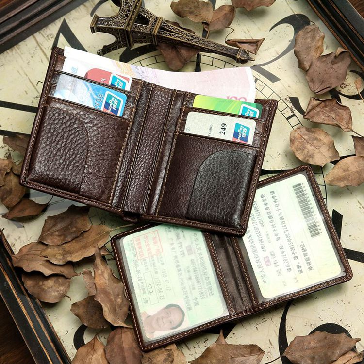 Dragon Leather Wallet & Card Holder