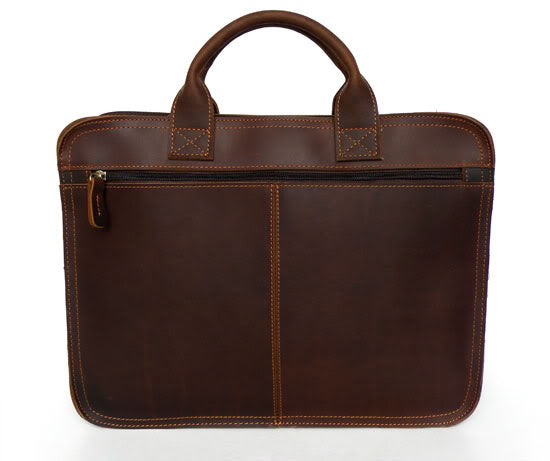 Classic Handmade Leather Vintage Briefcase