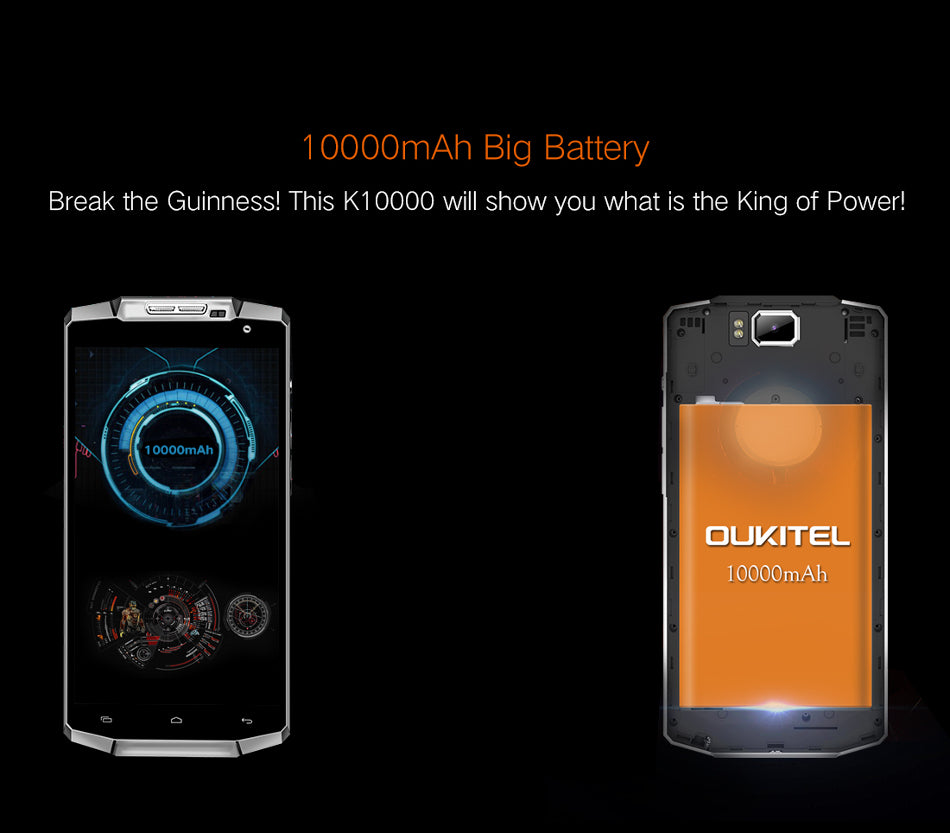 OUKITEL K10000 Android 5.1 4G LTE Phablet