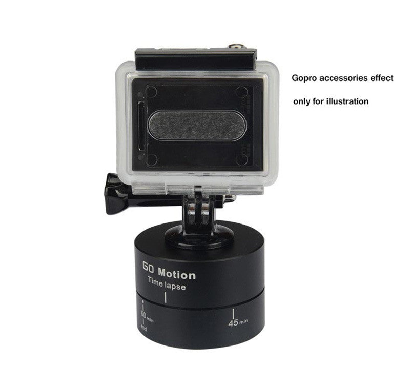 STEALTH® 360 Degrees Rotating Time Lapse Stabilizer Tripod Adapter for Gopro DSLR Smartphone