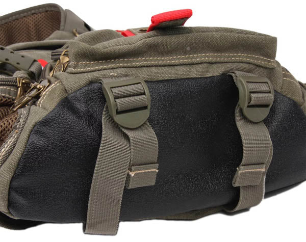 AERLIS Unisex Canvas Casual Travel Sport Chest Bag Cycling Bag