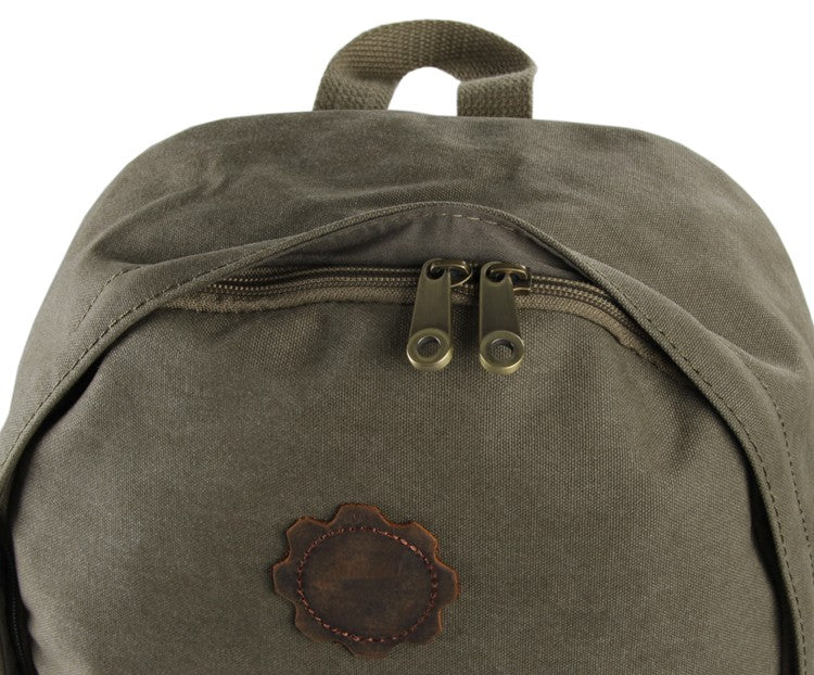 Universal London Canvas and Leather Backpack