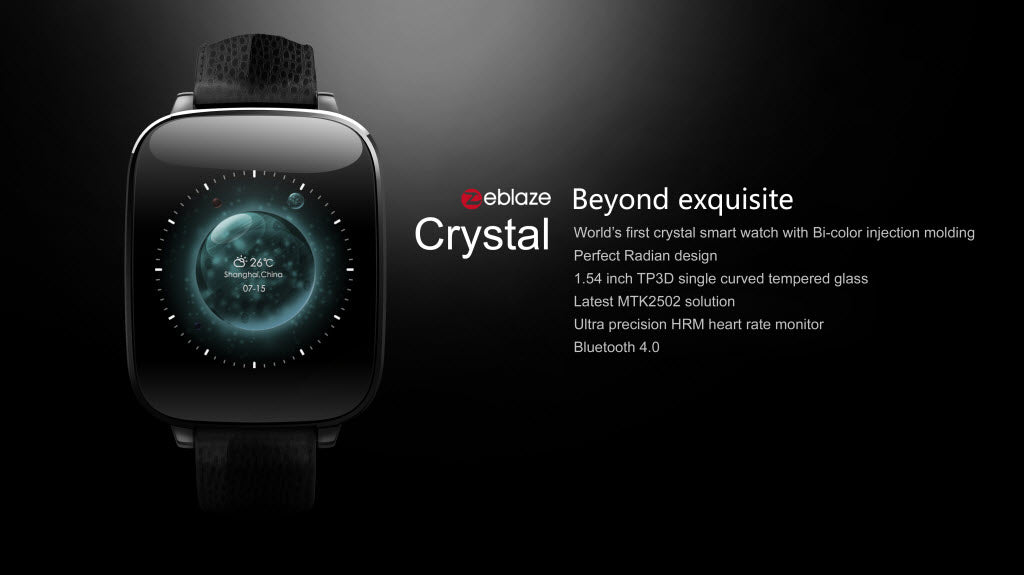 Zeblaze Crystal 1.54 LCD Smart Watch