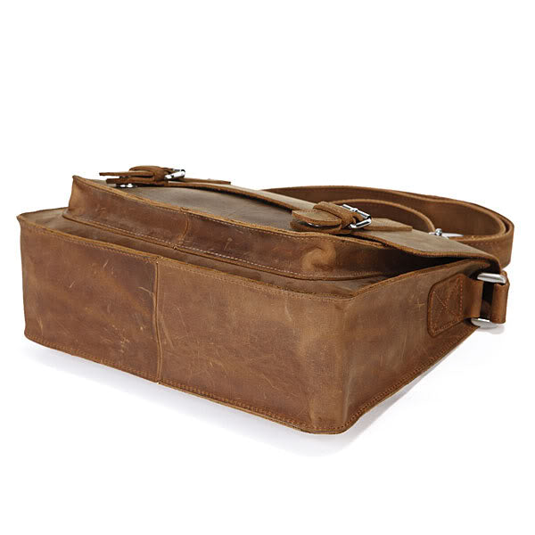 'Conny' Casual Retro Leather Messenger Bag