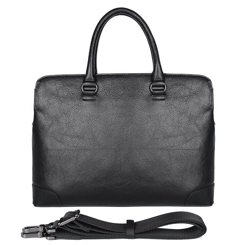 Champlain Slim Leather Laptop Briefcase