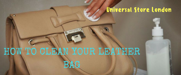 HOW TO CLEAN YOUR LEATHER BAG