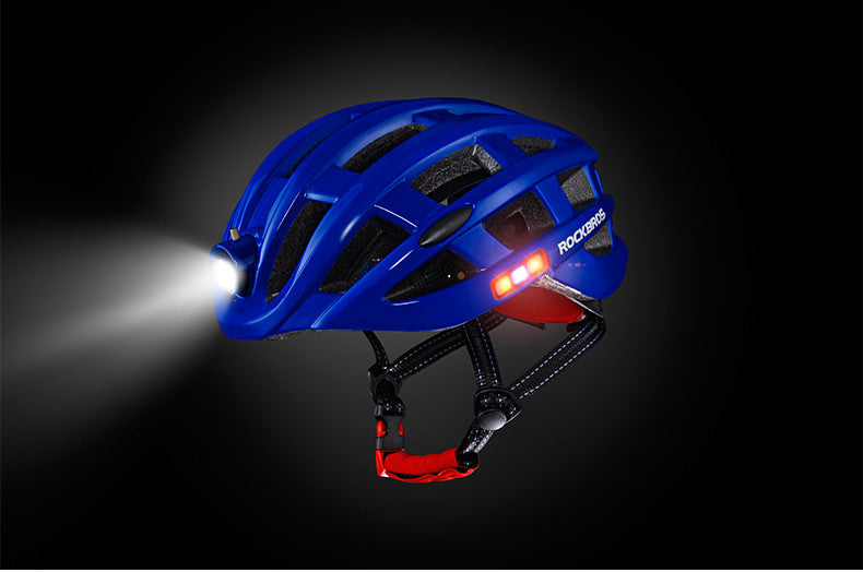ROCKBROS Cycling Helmet with Integrated Lights