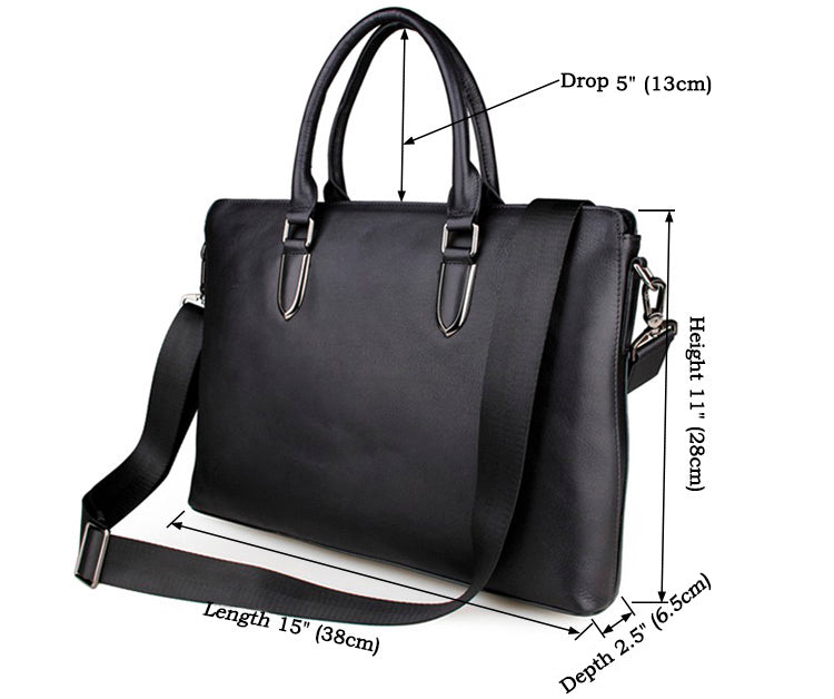 Small Lombard Street Laptop Bag