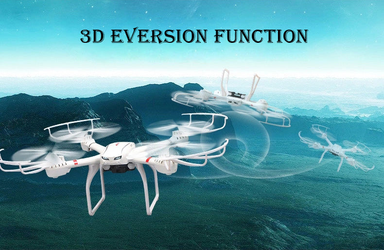 MJX X101 2.4G Quadcopter 6 Axis Gyro 3D One Key Return