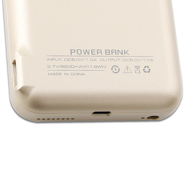 iPhone 6 Plus 8200mAh External Battery Power Case