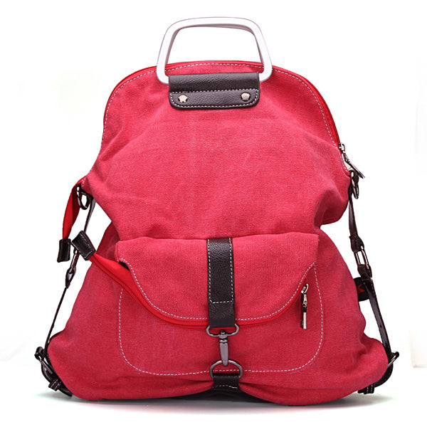 Casual Canvas Backpack Handbag