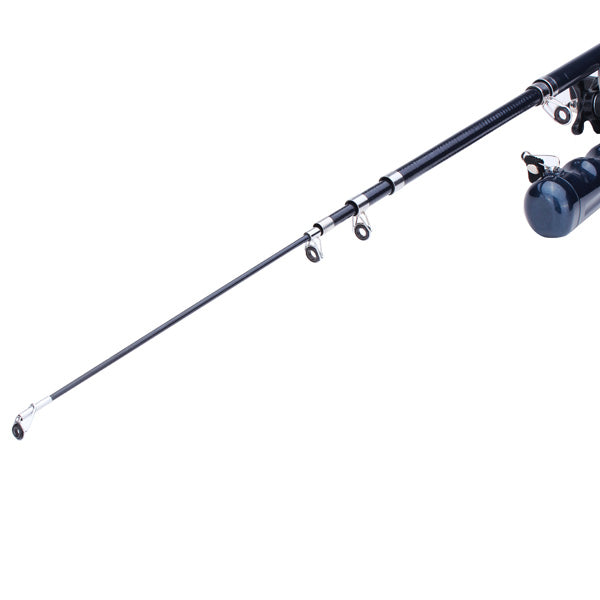 Portable Folding Telescopic Fiberglass Fishing Rod