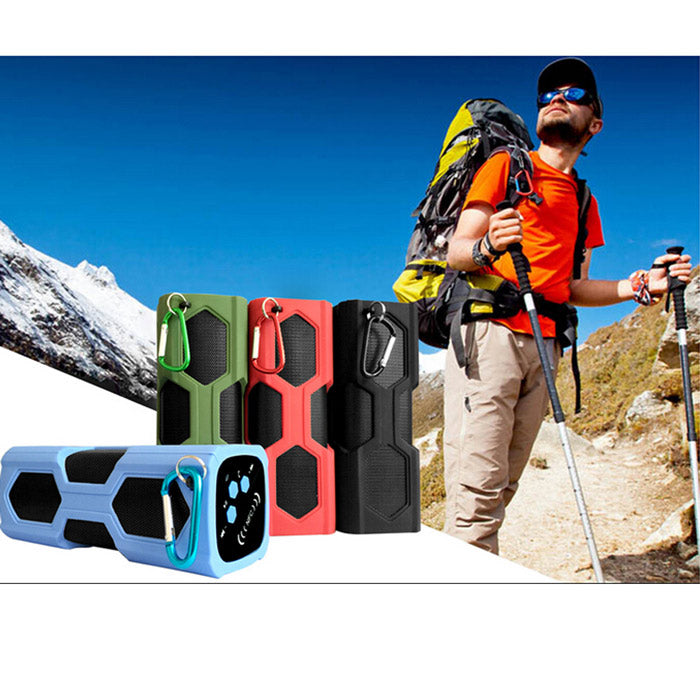 NFC Waterproof Bluetooth 4.0 Super Bass Speaker & 3600mAh Power Bank
