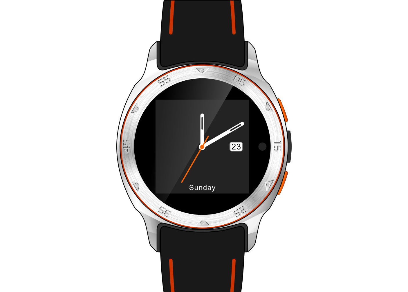Smartwatch Smartphone ZGPAX S7 1.54 Inch Android 4.4