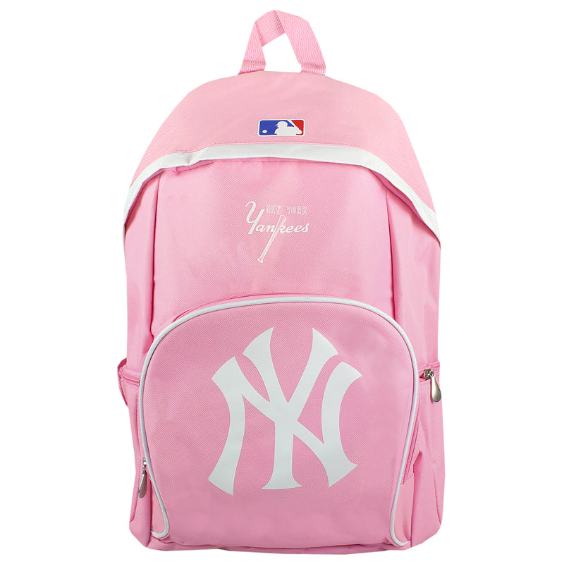 Bright Pink Backpack - MLB New York Yankees Varsity Backpack