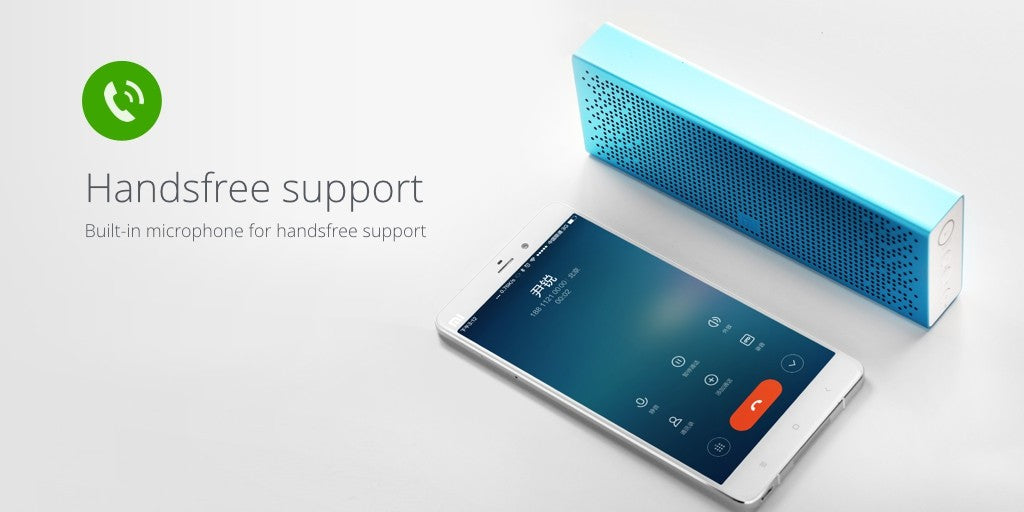 Xiaomi Micro-SD Aux-in Built in Microphone Stereo 1500mAh 3.8V Bluetooth Speaker
