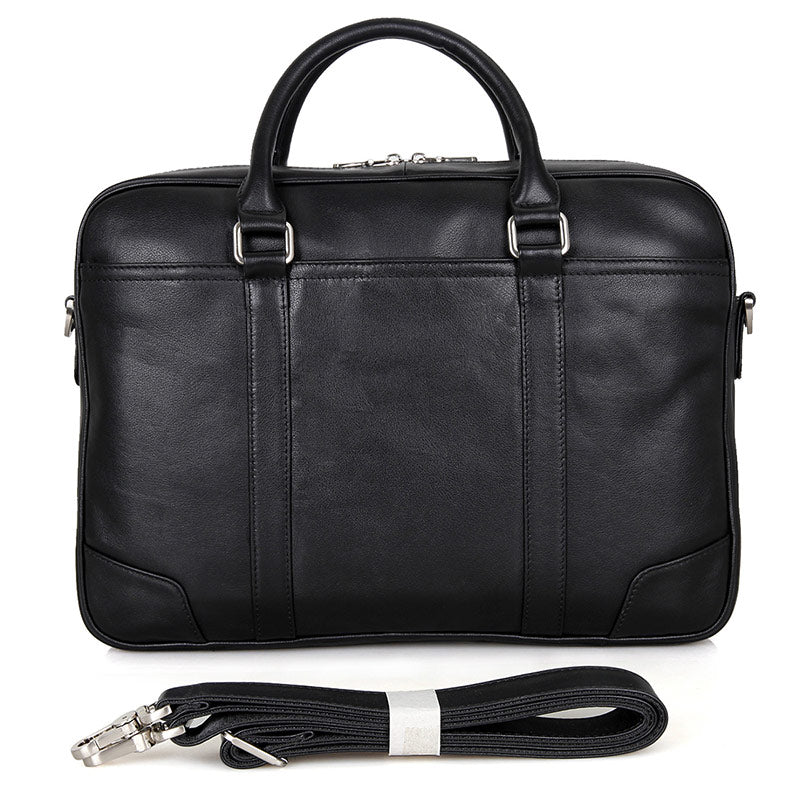 Calabria Italian Leather Business Briefcase