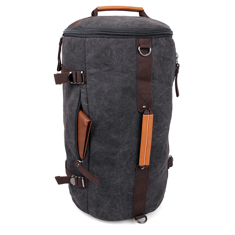 Canvas Universal Cylinder Bag - Black