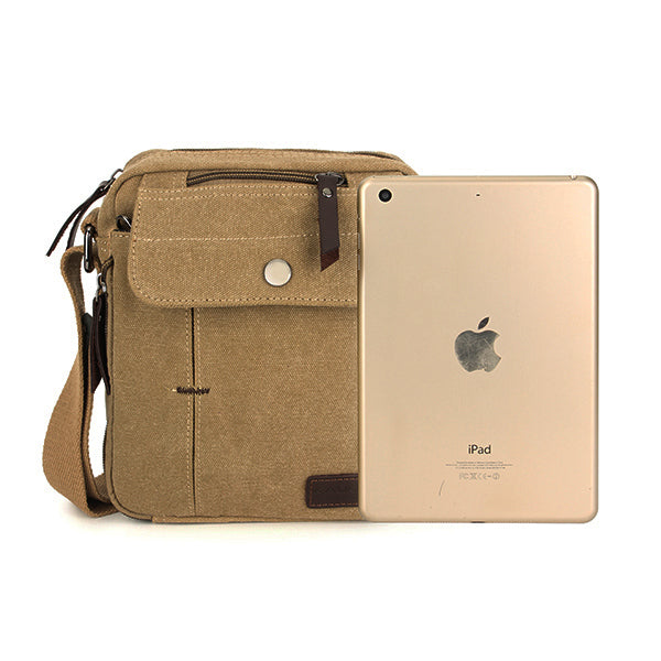 Canvas Shoulder Messenger Bag