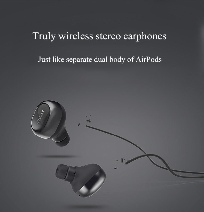 QCY Q29 Mini Wireless Bluetooth 4.1 Double Dual Headphone Earphone With Charging Box