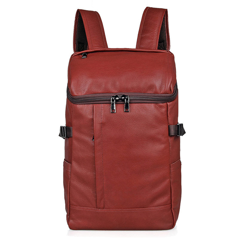 """Streetwise"" Leather Backpack"