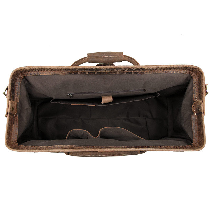Vulcan Leather Duffle Bag