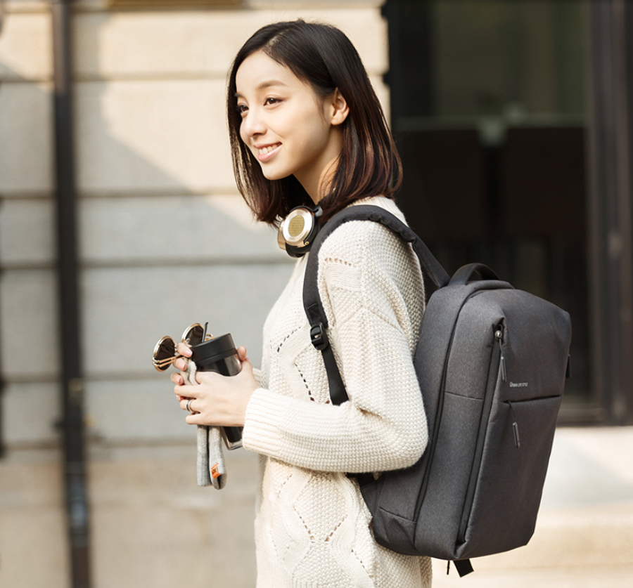 Xiaomi Mi Minimalist Urban Lifestyle Waterproof Backpack - Light Grey