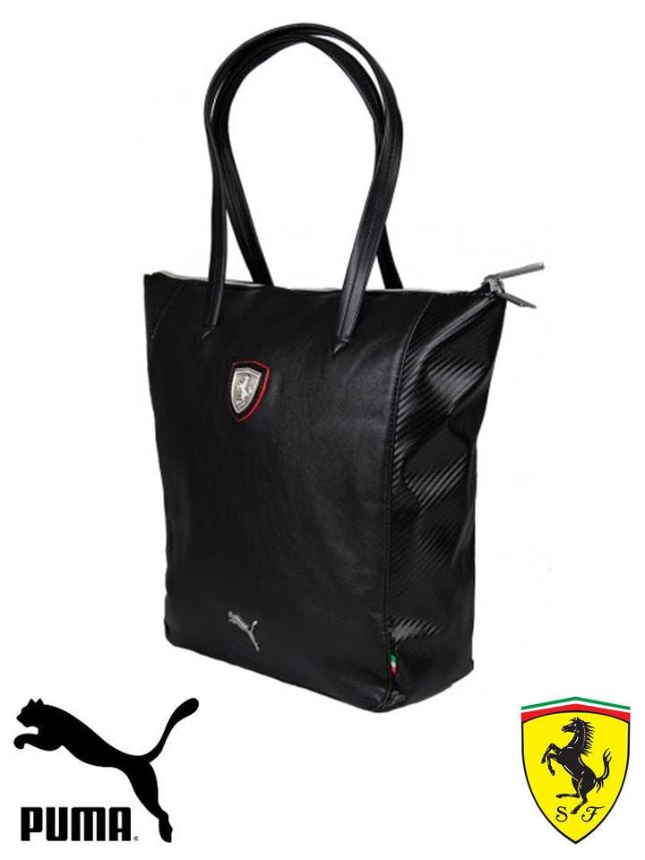 Women's PUMA Ferrari LS Shopper 073153 - Black