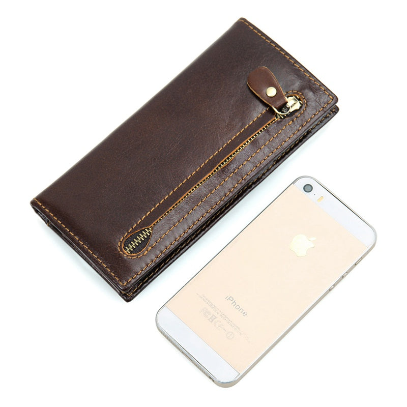 RFID Protector Genuine Leather Wallet - USLR8122Q