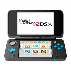 Nintendo New 2DS XL Nintendo 223594 4 GB microSDHC Black Turquoise-Universal Store London™
