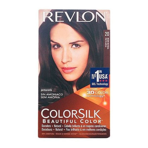 Dye No Ammonia Colorsilk Revlon Black-Universal Store London™