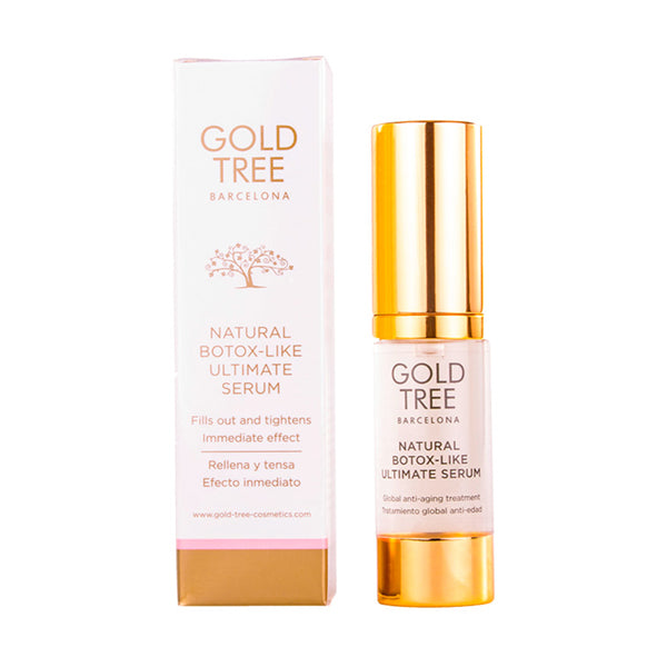 Facial Serum Natural Botox Gold Tree Barcelona-Universal Store London™