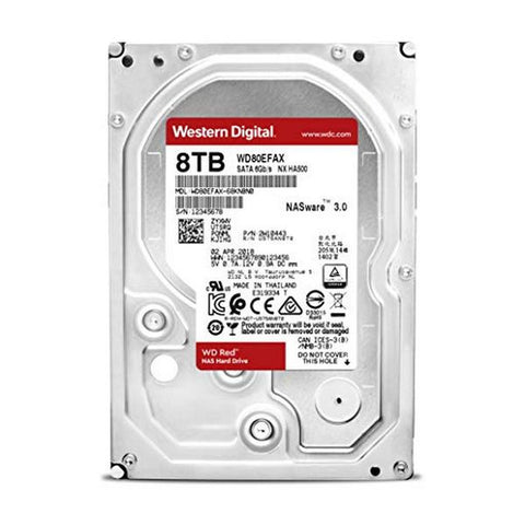 Image of Hard Drive Western Digital WD80EFAX 8 TB 3.5'''' SATA III-Universal Store London™