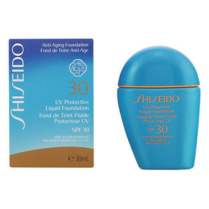 Fluid Foundation Make-up Sun Protection Shiseido 97200-Universal Store London™