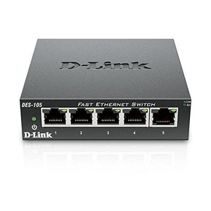 Desktop Switch D-Link DES-105 LAN-Universal Store London™