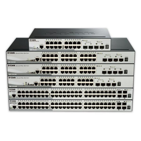 Cabinet Switch D-Link NSWSAR0141 DGS-1510-52X 48P GB Layer 3 4x10GB SFP+-Universal Store London™