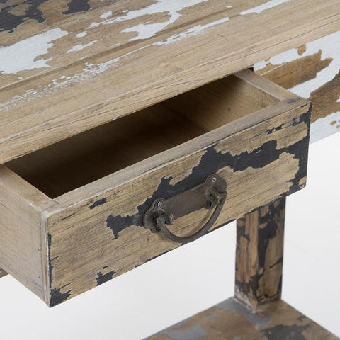Image of 1 drawer hall stripped wood - Poetic Collection by Craften Wood-Universal Store London™