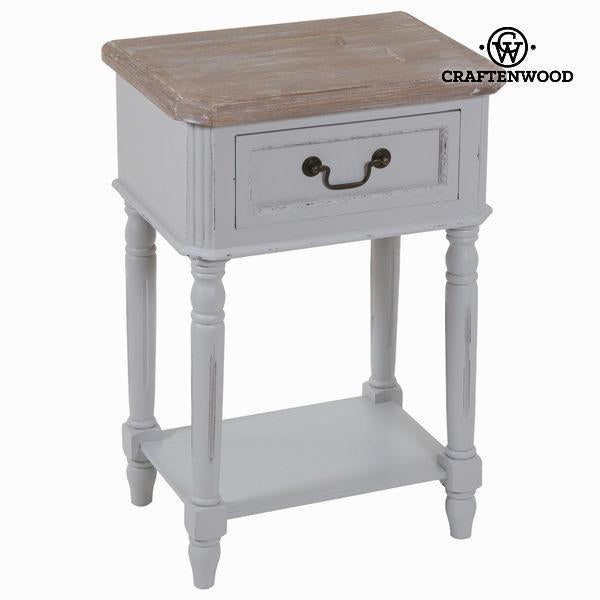 1 drawer nightstand daphne - Sweet Home Collection by Craften Wood-Universal Store London™