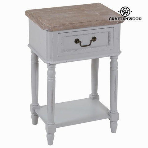 Image of 1 drawer nightstand daphne - Sweet Home Collection by Craften Wood-Universal Store London™