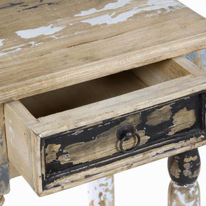 1 drawer pedestal pickling - Poetic Collection by Craften Wood-Universal Store London™
