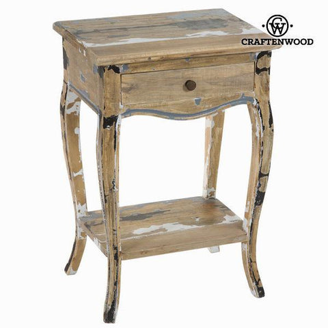 1 drawer table stripped wood - Poetic Collection by Craftenwood-Universal Store London™