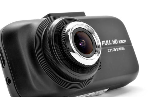 "Image of 1080p Full HD Car Dashcam ""Slipstream"" - 2.7 Inch Screen, G Sensor, Wide Angle Lens-Universal Store London™"