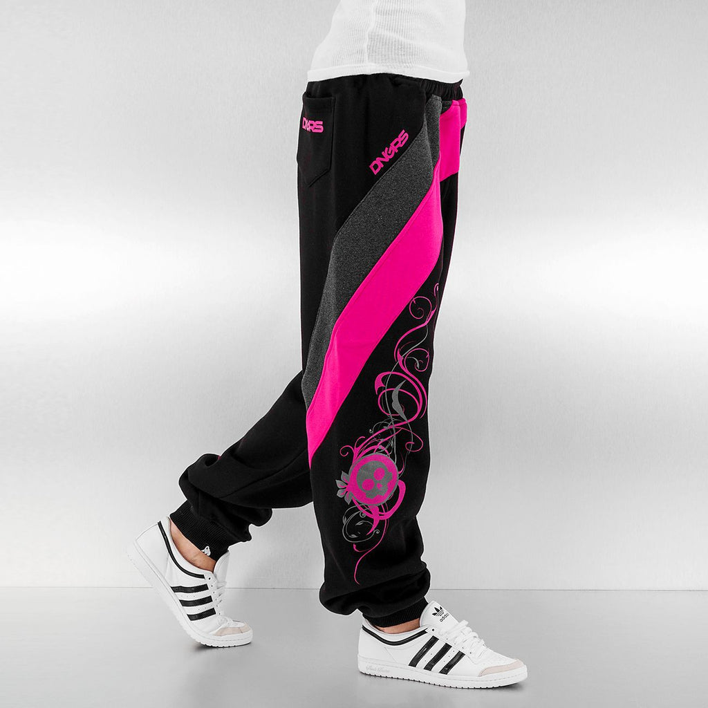 Dangerous DNGRS / Sweat Pant Skull in black-Universal Store London™
