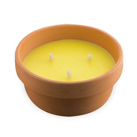 Image of 15 cm Citronella Candle in Terracotta Pot-Universal Store London™