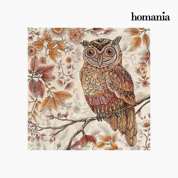 Painting Owl (90 x 90 cm) by Homania-Universal Store London™