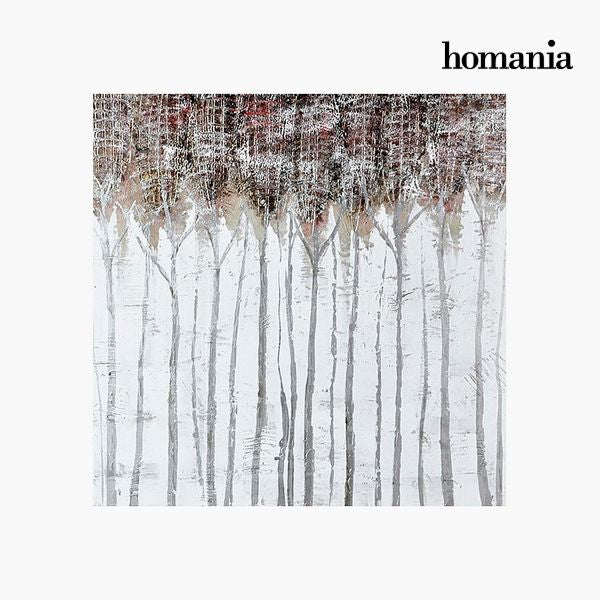 Oil Painting Trees (100 x 100 cm) by Homania-Universal Store London™